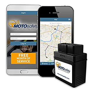 Motosafety Obd G Car Tracker With Free Month Of Service Vehicle Tracking Devices Car Gps Tracker For Car Real Time Gps Teen Tracker With Driving Reports