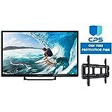 "Element 32"" ELST3216H Smart 720p 60Hz LED HD TV (Certified Refurbished) + Wall Mount Bracket + 1 Year CPS Warranty"