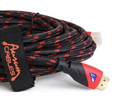 Aurum Ultra Series - High Speed HDMI Cable (25 feet) With Ethernet - Supports 3D and Audio Return Channel from Aurum Cables
