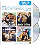 TCM Greatest Classic Films Collection: Marx Brothers (A Day at the Races / A Night in Casablanca / Room Service / At the Circus) [Import]