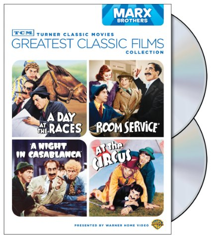 Race Collection - TCM Greatest Classic Films Collection: Marx Brothers (A Day at the Races / A Night in Casablanca / Room Service / At the Circus)