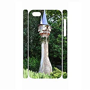 Deluxe Building Series Design Snap On Hard Case Cover for Iphone 5c