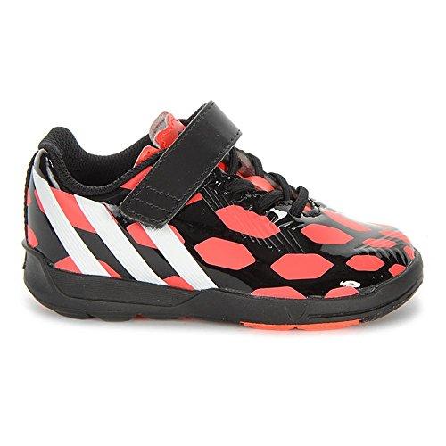Adidas PREDATOR EL I Schwarz Rot Kinder Fussball Schuhe Neu