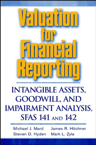 Download Valuation for Financial Reporting: Intangible Assets, Goodwill, and Impairment Analysis, SFAS 141 and 142 Pdf