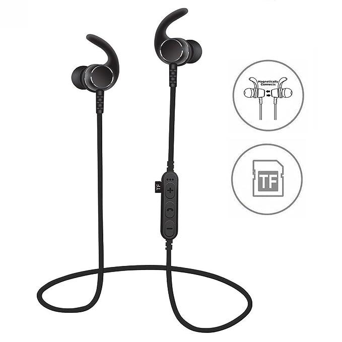 Syl Bluetooth auriculares con TF ranura para tarjeta SD, a ...