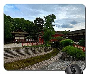 Temple Garden Mouse Pad, Mousepad (10.2 x 8.3 x 0.12 inches)