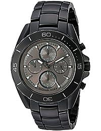 Michael Kors Men's Quartz Stainless Steel Automatic Watch, Color:Black (Model: MK8517)
