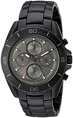 Michael Kors Men's Jetmaster Black Watch - Kors Guys Michael