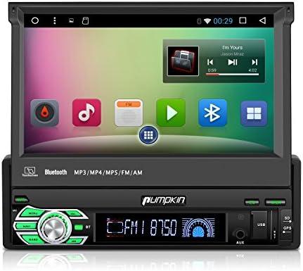 Pumpkin 1 DIN Android 6.0 Auto Radio Universal con 7
