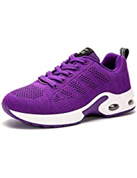 Women's Air Cushion Lightweight Running Shoes Athletic...