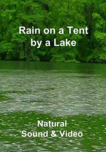 Rain on a Tent by a Lake