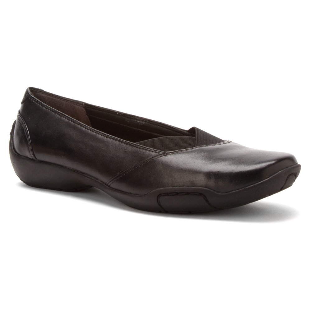Ros Hommerson Cady N/S Round Toe Canvas Flats B00FORW0TS 7 N US|Black Nappa