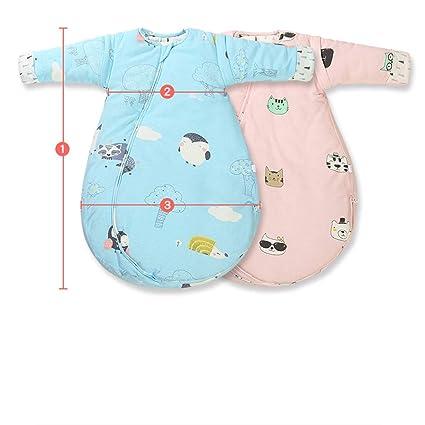 Saco de Dormir para bebés, Modelos de algodón para niños de otoño e Invierno,