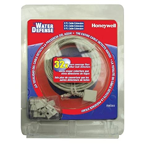6 Pack Bundle of Honeywell RWD80/T Water Defense Leak Sensing Alarm Extension Cable - - Amazon.com