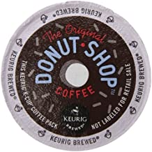 Keurig, The Original Donut Shop, Medium Roast Coffee, K-Cup Counts, 50 Count