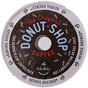 Keurig, The Original Donut Shop, Medium Roast, K-Cup Counts, 50 Count