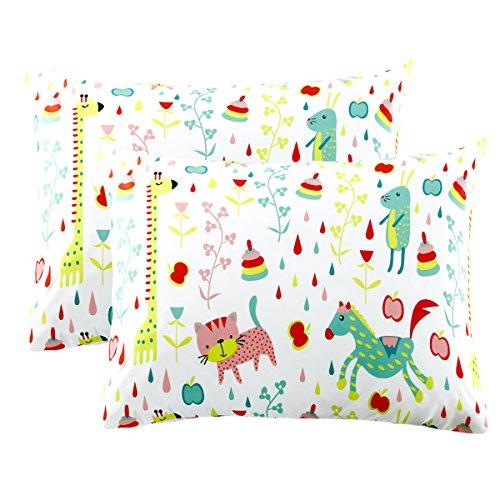 (Mellanni Pillowcase Set Animal Print - Pack of 2 Standard Size 20