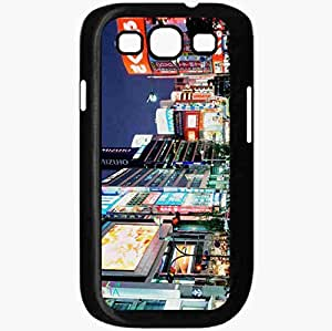 Unique Design Fashion Protective Back Cover For Samsung Galaxy S3 Case China Ul Movement Advertisement Lights Transition Black