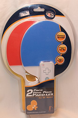 Pack Ping Pong Paddles Wii Remote product image