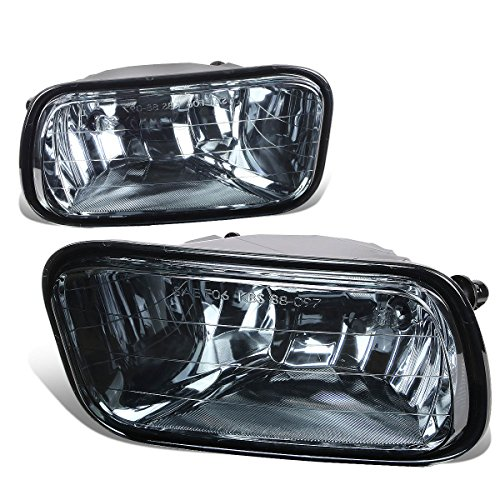 For Dodge Ram DS/DJ Pair of Bumper Driving Fog Lights (Smoke Lens)