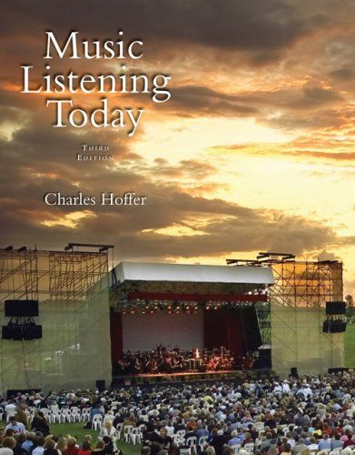 Music Listening Today (with CD) (Available Titles CengageNOW)