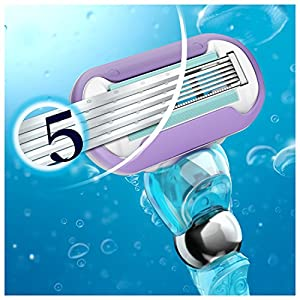 Gillette Venus Swirl Flexiball Women's Razor - 1 handle + 1 refill