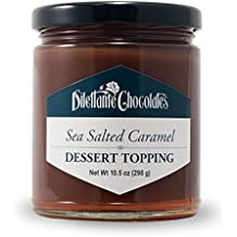 Sea Salted Caramel Sauce & Dessert Topping - 10.5oz Jar - by Dilettante (3 Pack)