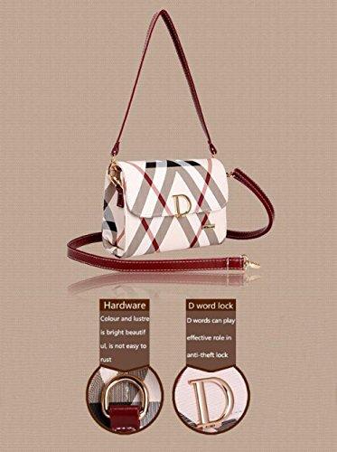Bags Bag Shoulder Strap JPFCAK Fashion lock Shoulder Classic Crossbody Ms Packet B Double D Temperament qEEw08IR