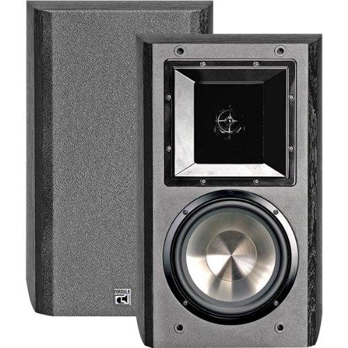 "Price comparison product image 6.5"" 350-Watt 2-Way Bookshelf Speaker Includes Flush Wall Mount"
