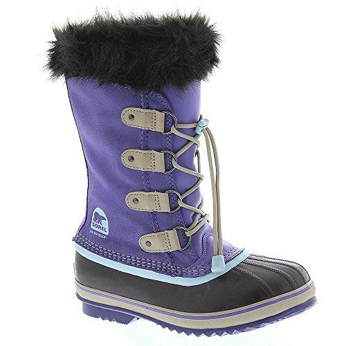 Sorel Girls Joan Of Arctic Boot Purple Lotus/Sky Blue, 6.0