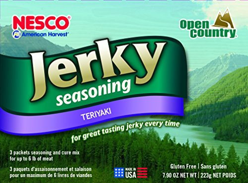 Nesco BJT-6 Jerky Spice Works, Teriyaki Flavor, pack of 3 (Packaging may vary)