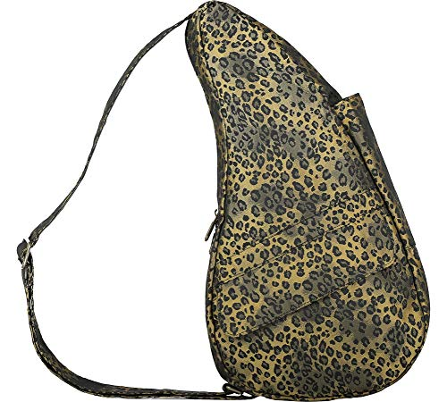AmeriBag Small Healthy Back Bag Tote Prints and Patterns (Leopard Luxe Gold) ()