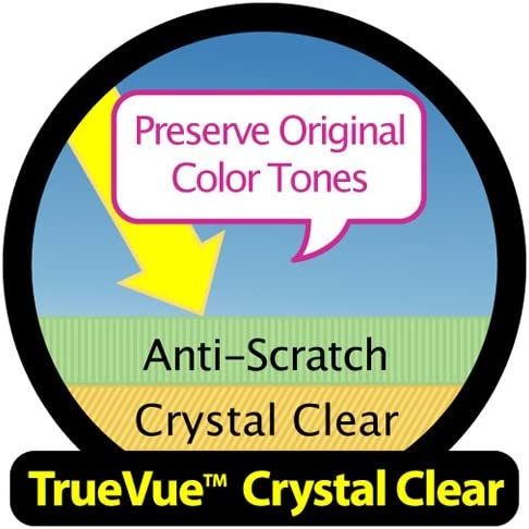 Compatible with Sanyo Xacti VPC-C5 TrueVue Crystal Clear Digital Camcorder Screen Protector Lexerd