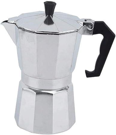 Sdesign Estufa Italiana Espresso Top Cafetera Brew Coffee Continental Jarra Cafetera - 3 Copa del percolador del crisol por un Ministerio del Interior: Amazon.es: Hogar