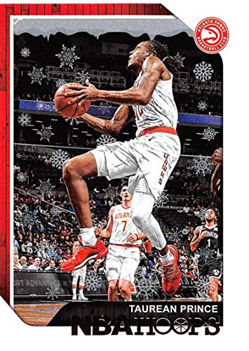 2018-19 Panini NBA Hoops Winter/Holiday/Christmas #11 Taurean Prince Atlanta Hawks Official Basketball Card