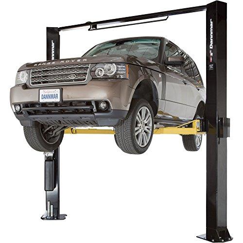 Oil Capacity Lifts Parts : Dannmar post asymmetric narrow lift lb