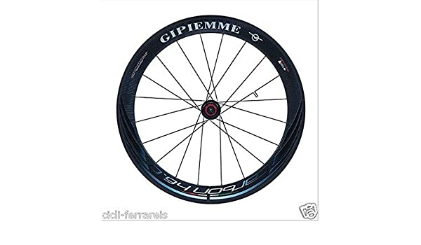 Par Ruedas bicicleta correr Gipiemme Carbon H6.0 tubolare- strada-crono-ciclocross: Amazon.es: Deportes y aire libre