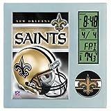 Wincraft New Orleans Saints Desk Clock