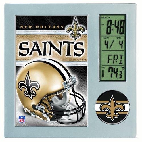 New Orleans Saints Desk Clock - 2