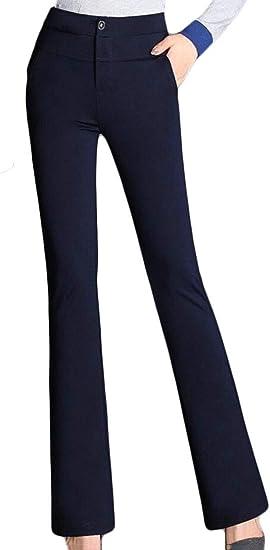 Gaga Pantalones De Vestir De Cintura Alta Para Mujer Azul Marino Xxxl Amazon Com Mx Ropa Zapatos Y Accesorios