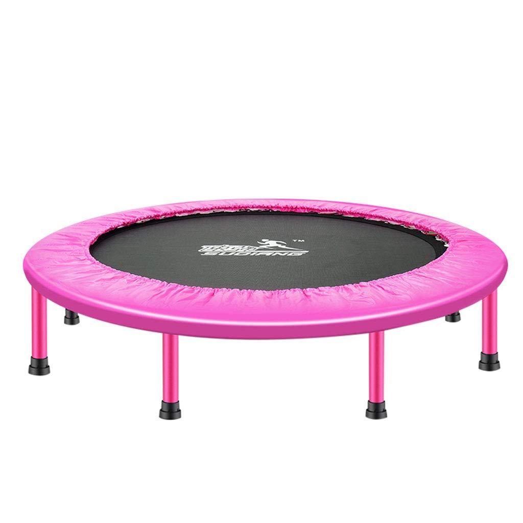 【メーカー包装済】 Mesurn JP 室内フィットネストランポリン JP、高耐荷重弾性ジャンプ布、丸みを帯びた三角リング Mesurn Pink、持ち運びが容易で持ち運びが簡単、家族用エアロビクストランポリン B07R64B6B8 Pink A A Pink, 古河市:0f937293 --- arianechie.dominiotemporario.com