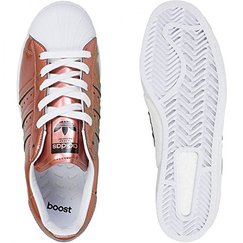 Blanc Unbekannt Copper Running Weiß White Baskets Pour Metallic Femme 66tFRU
