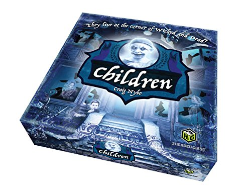 Quirky Engine Entertainment Children: The Horror Game - 13 Ghosts and Spirits, a Haunted Mansion, and Bewitched Objects - Scary Board Game for 2 to 4 -