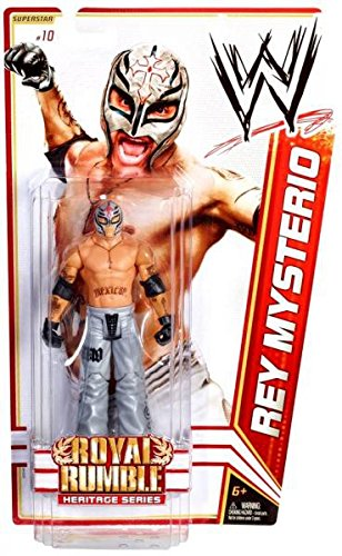 WWE Rey Mysterio 2008 Royal Rumble Figure Series 14 by Mattel
