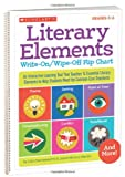 Literary Elements Write-On/Wipe-off Flip Chart, Justin Martin and Liza Charlesworth, 0545442745