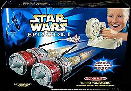 STAR WARS TURBO BLAST PODRACERS EDISODE 1 SOUND ELETRonic