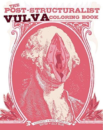 Post Structuralist Vulva Coloring Book product image