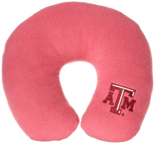 World's Best NCAA Feather-Soft Microfiber Neck Pillow, Texas A&M Aggies