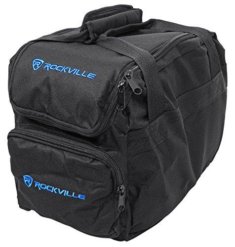Rockville Lighting Bag For (4) Chauvet or ADJ Slim Par Lights+Controller (RLB70) (Lighting Case Dj)