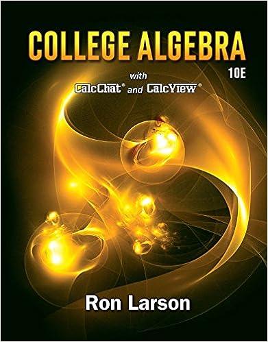 College algebra 010 ron larson amazon college algebra 10th edition kindle edition fandeluxe Gallery